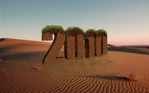 3d oasis text effect 2010 year by ribhu 300x187 18 Best 2010 New Year Wallpapers