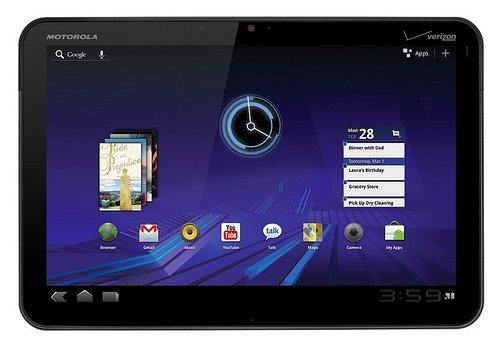 android 3 honeycomb motorola xoom 15+ Best Features Of Android 3.0, Honeycomb