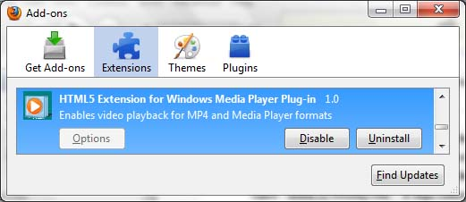 microsoft h264 firefox addon image Microsofts HTML5 Add on To Support H.264 On Chrome & Firefox!