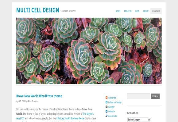 10 html5 wordpress theme 10 Best Free HTML5 Wordpress Themes