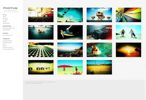 9 html5 wordpress theme 10 Best Free HTML5 Wordpress Themes