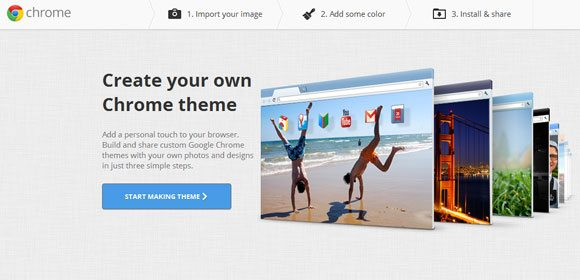 chrome app my theme creator How To: Create Your Own Chrome Theme in 2 Easy Steps!