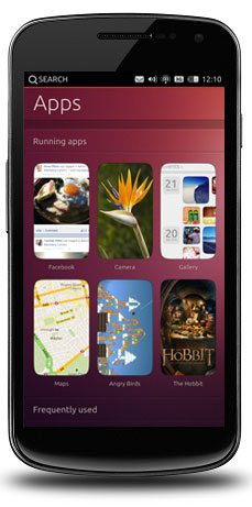 2 Ubuntu for phones homescreen 10 Promising Features Of Ubuntu For Phones OS